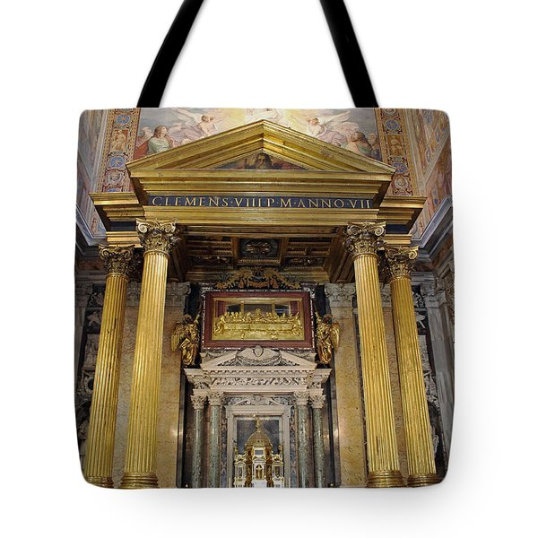 Basilica Of St John Lateran  Tote Bag