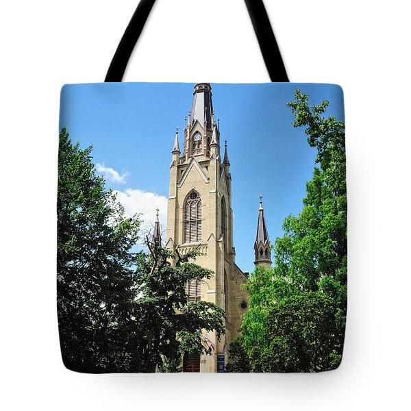 Basilica Of The Sacred Heart Tote Bag
