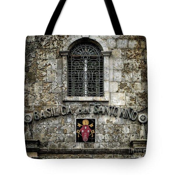 Basilica Sign Tote Bag