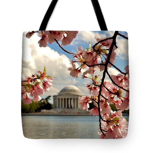 Basin Blossoms Tote Bag