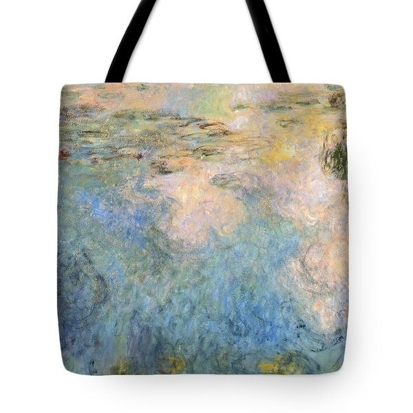 Basin Of Water Lilies Tote Bag by Claude Monet