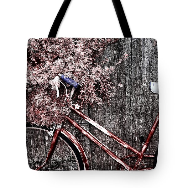 Basket Full Tote Bag by Mark Kiver