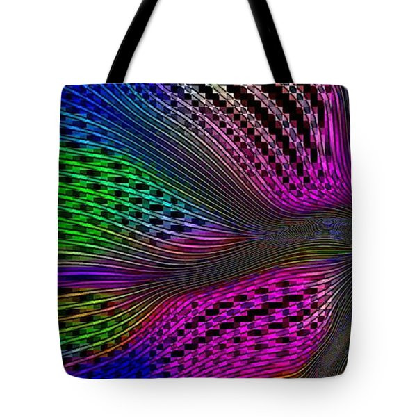 Tote Bag featuring the digital art Basket Weaving 101 by Greg Moores