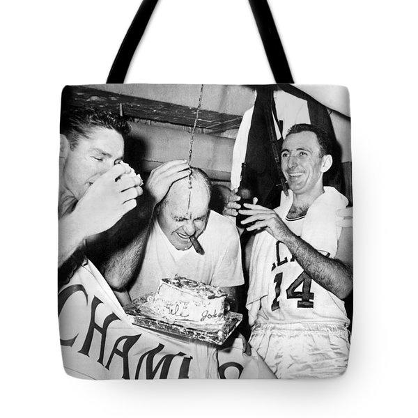 Basketball Champion Celtics Tote Bag