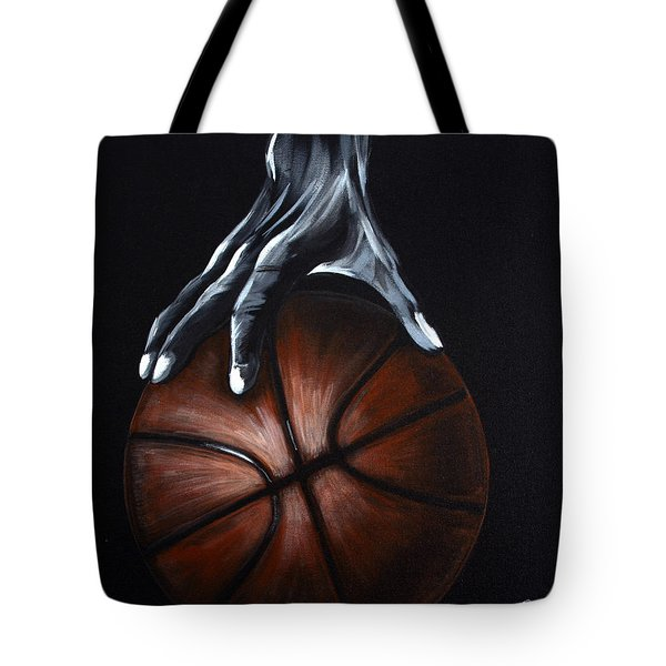 Basketball Legend Tote Bag