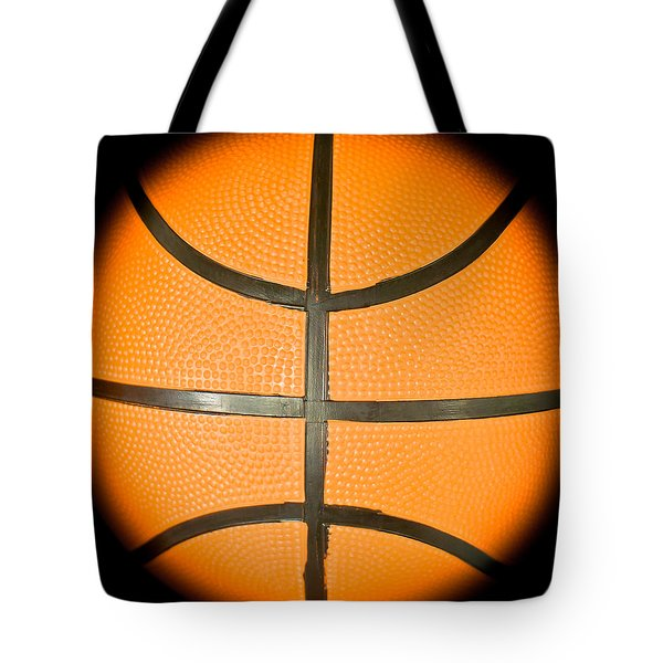 Basketball Tote Bag by Tom Gowanlock