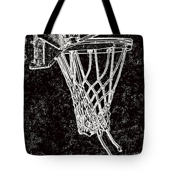 Basketball Years Tote Bag by Karol Livote
