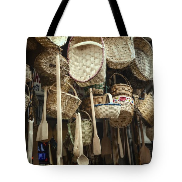 Baskets And Spoons Tote Bag