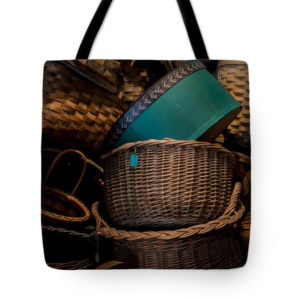 Baskets Galore Tote Bag