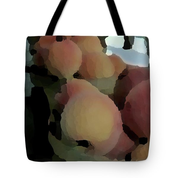 Baskets Of Peaches Tote Bag