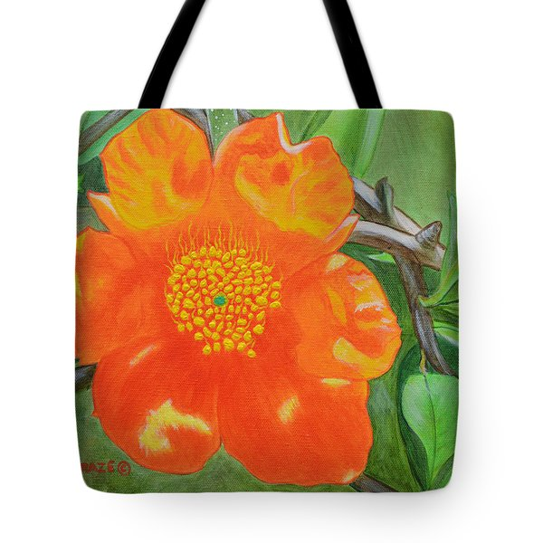 Basking In The Sun Tote Bag by Donna  Manaraze