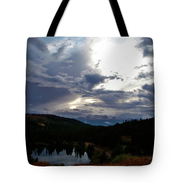 Basking In Twilight Tote Bag by Jeremy Rhoades