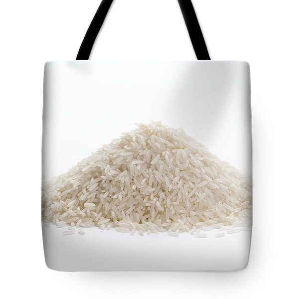 Tote Bag featuring the photograph Basmati Rice by Lee Avison