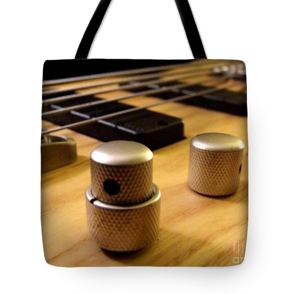 Bass Tote Bag by Andrea Anderegg