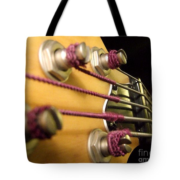 Bass II Tote Bag by Andrea Anderegg