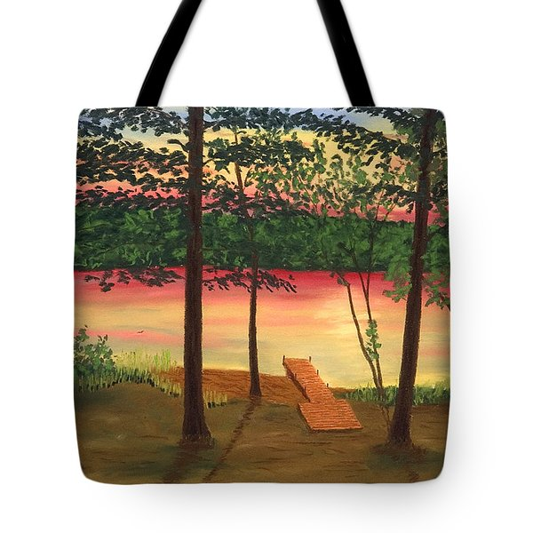 Bass Lake Tote Bag