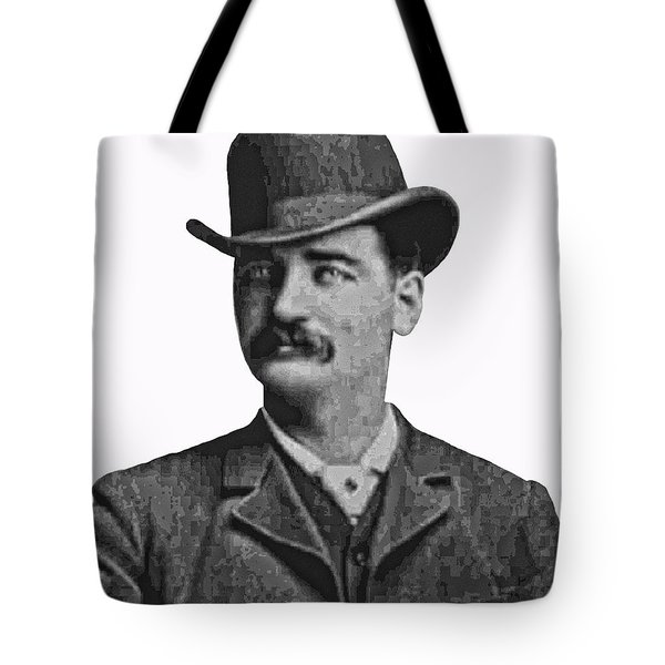 Bat Masterson Lawman Tote Bag