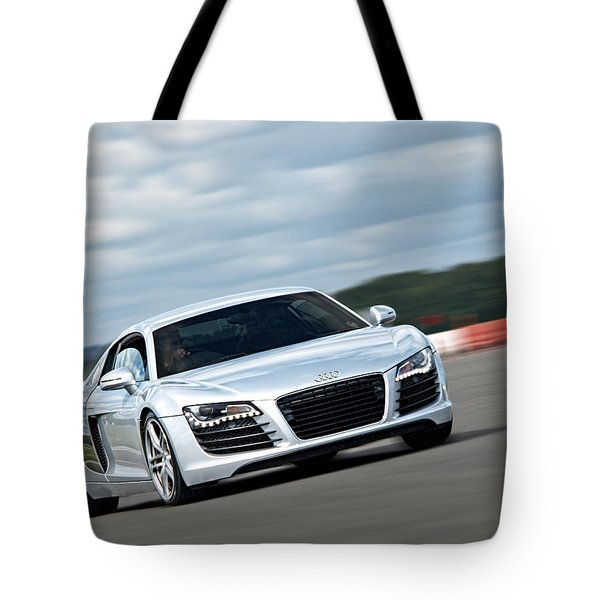 Bat Out Of Hell - Audi R8 Tote Bag