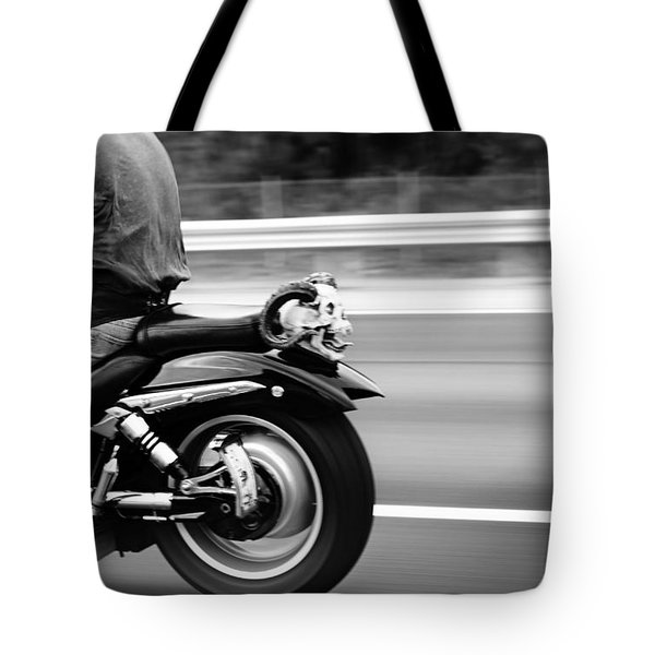 Bat Out Of Hell Tote Bag by Laura Fasulo