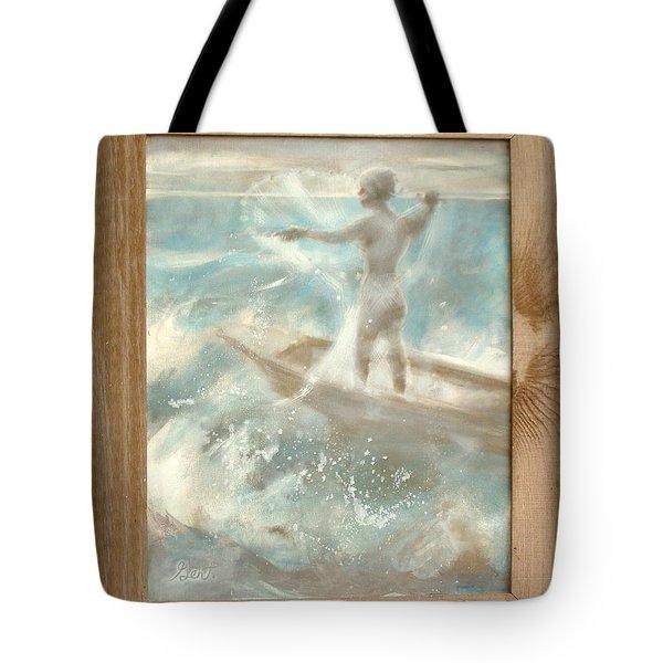 Bateau Tote Bag by Gertrude Palmer