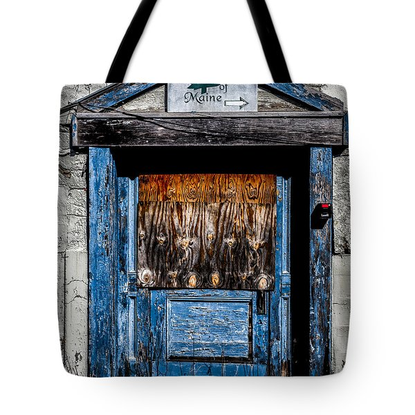 Bates Of Maine Tote Bag by Bob Orsillo