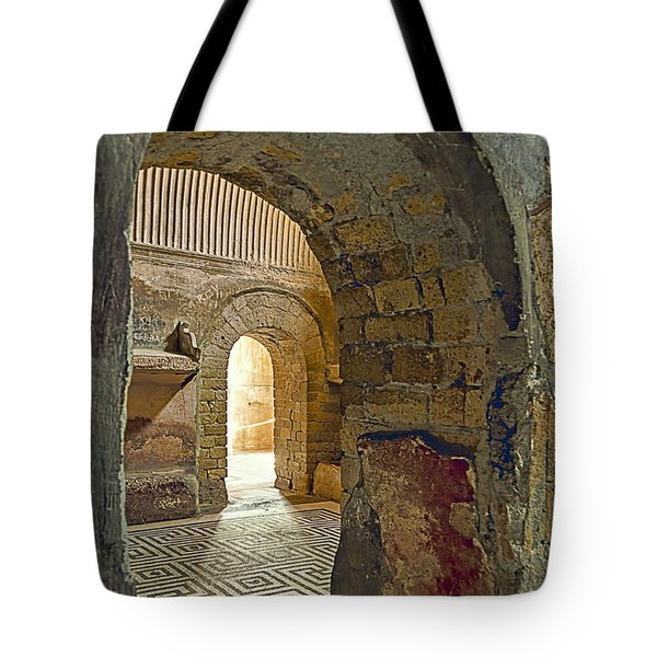 Bath House Tote Bag