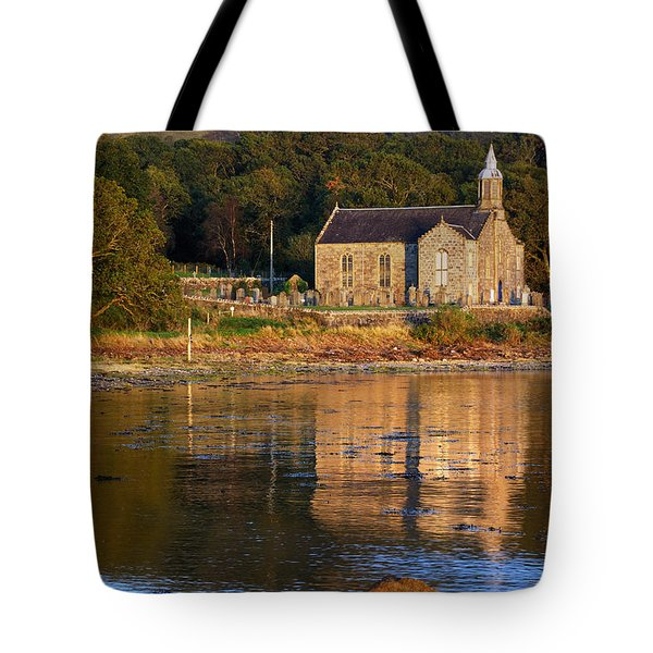 Tote Bag featuring the photograph Bathed In Gods Light by Wendy Wilton