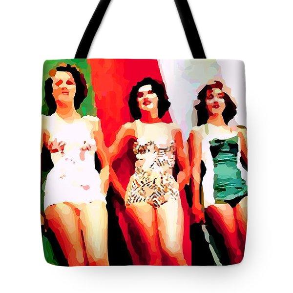 Bathing Beauties Tote Bag
