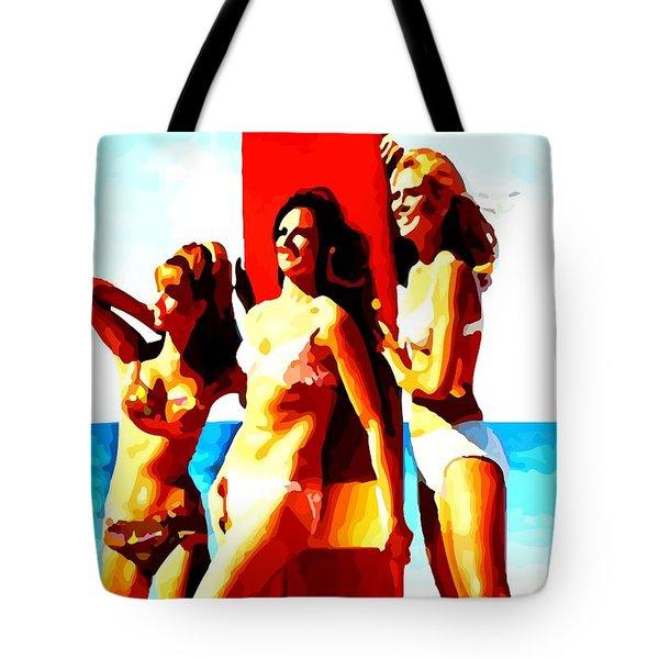 Bathing Beauties No. 3 Tote Bag