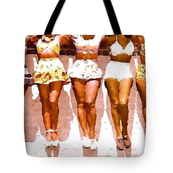 Bathing Beauties No. 4 Tote Bag
