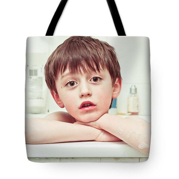 Bathtime Tote Bag by Tom Gowanlock