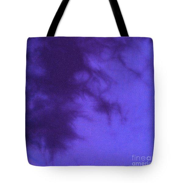Batik In Purple Shades Tote Bag by Kerstin Ivarsson