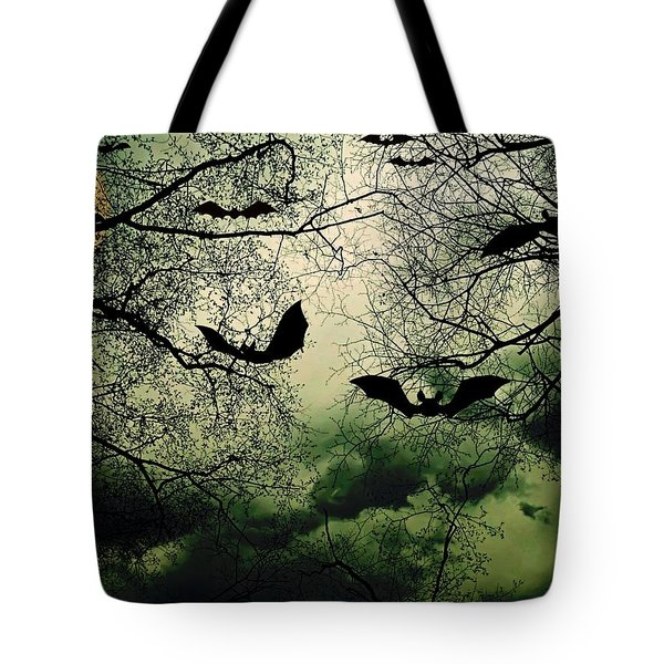 Bats From Hell Tote Bag