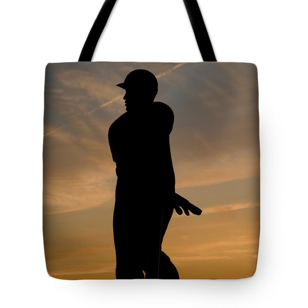 Batter At Dawn - Phillies Tote Bag by Bill Cannon