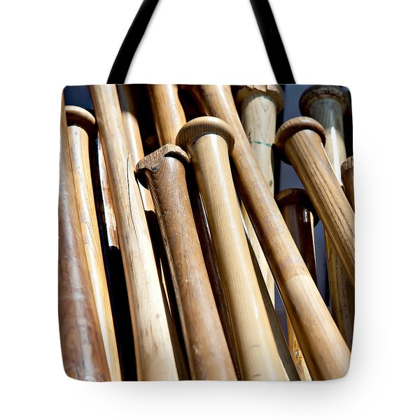 Batter Up Tote Bag by Art Block Collections