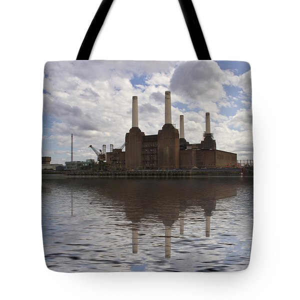 Battersea Power Station London Tote Bag