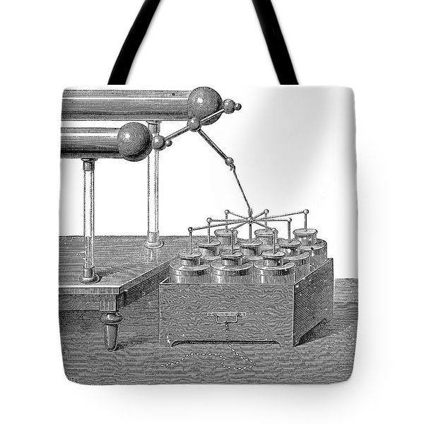 Battery, 18th Century Tote Bag
