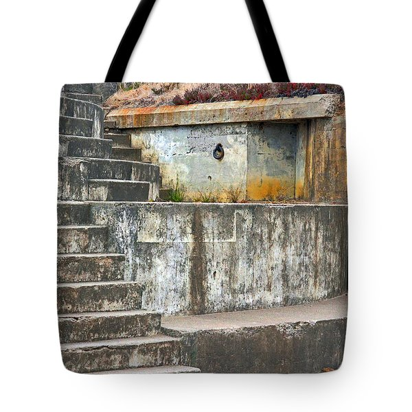 Tote Bag featuring the photograph Battery Chamberlin by Kate Brown