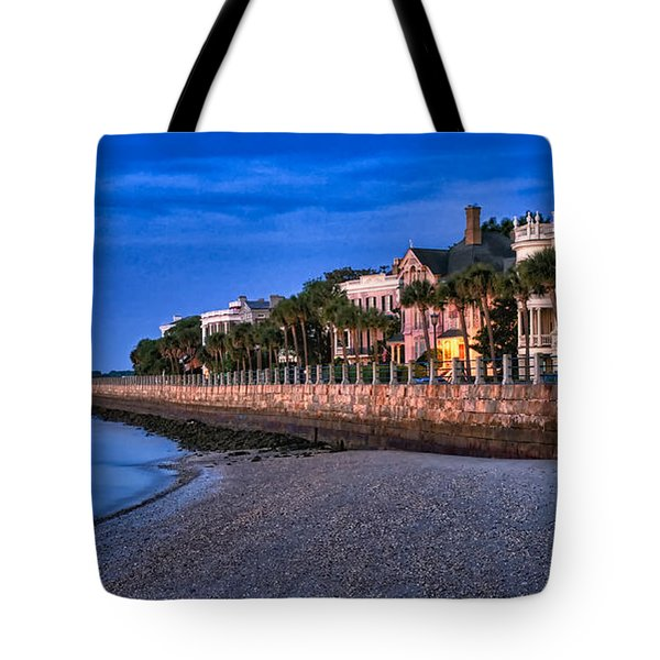 Battery Row Tote Bag