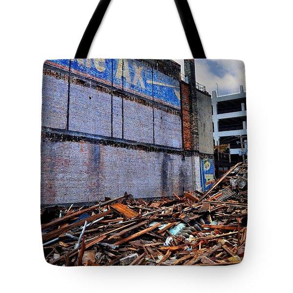 Battle Ax Tote Bag