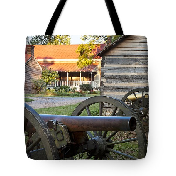 Battle Of Franklin Tote Bag by Brian Jannsen