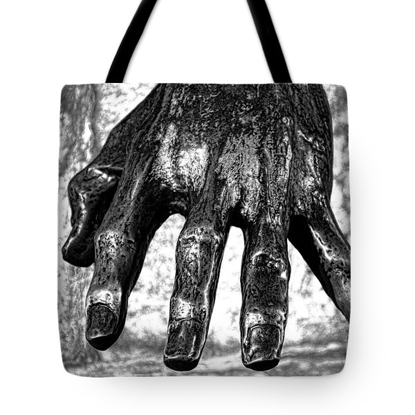 Battle Of Grunwald Monument Tote Bag by Mariola Bitner