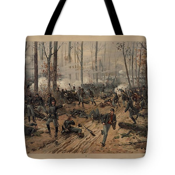 battle of Shiloh Tote Bag
