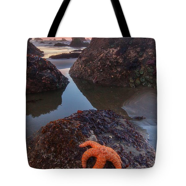 Battle Rock Sunrise Tote Bag