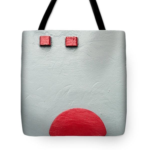 Battleship Abstract Tote Bag