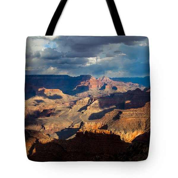 Battleship Rock In The Shadows Tote Bag
