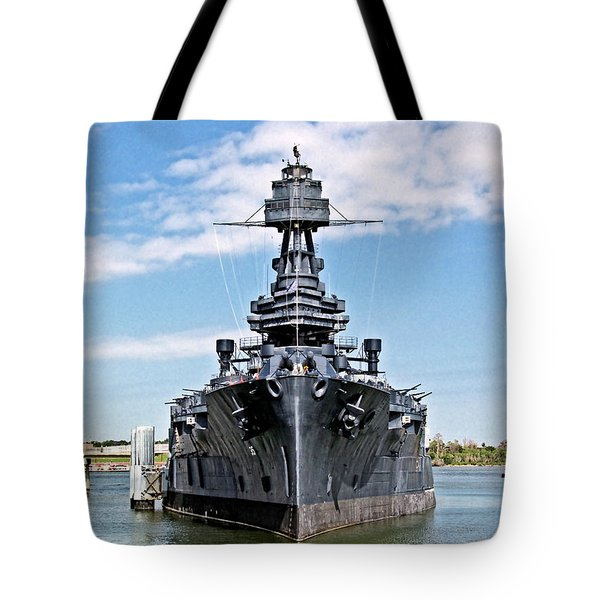Battleship Texas Tote Bag