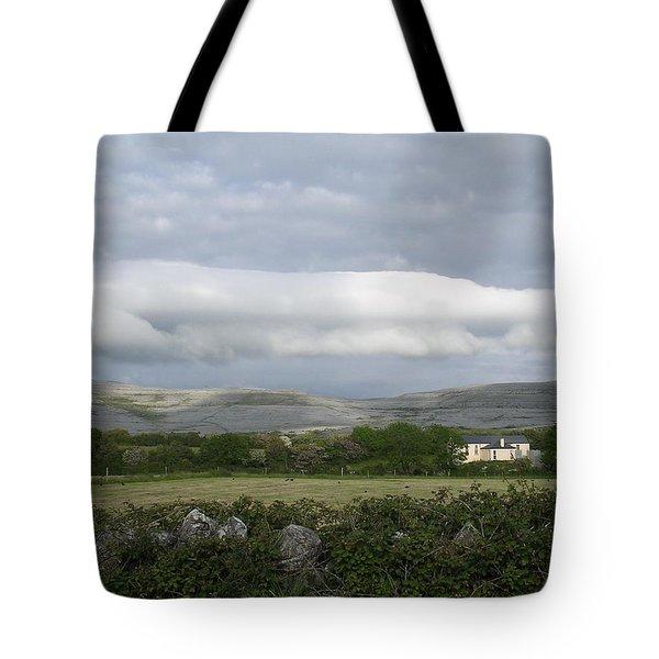 Baughlyvann Clouds Tote Bag