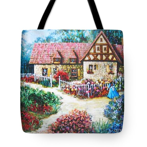 Bavarian Cottage Tote Bag