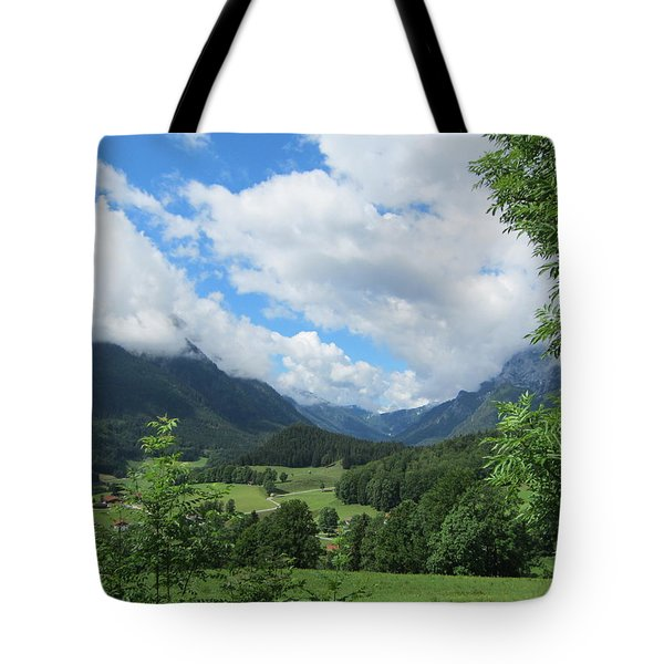 Bavarian Countryside Tote Bag by Pema Hou